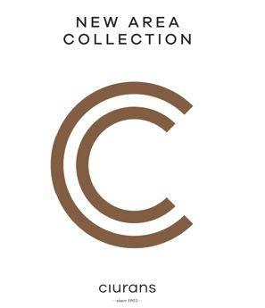 Catálogo New Area Collection Ciurans